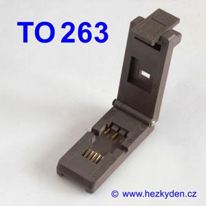 Test Socket SMD TO263