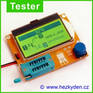 Tester elektro součástek ESR‑T4 LCR-T4