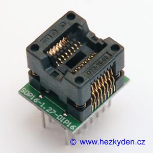 Test Socket 16-pin DPS