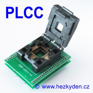 Test Socket SMD PLCC 44-pin DPS