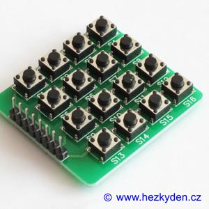 Tlačítková klávesnice maticová