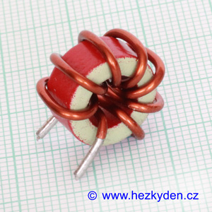 Toroidní cívka mini 1,7 µH