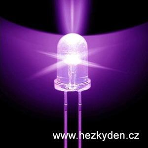 UV LED dioda 5 mm