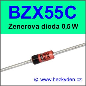 Zenerova dioda BZX55C